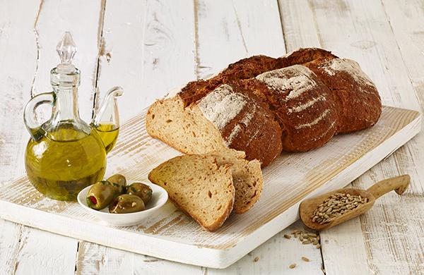 Toscanabrot mit Olivenöl